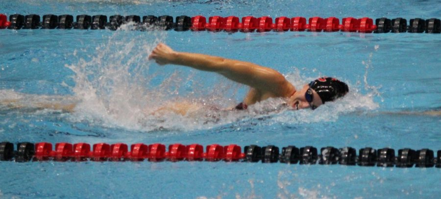 Swimmer Plans to Compete Collegiately