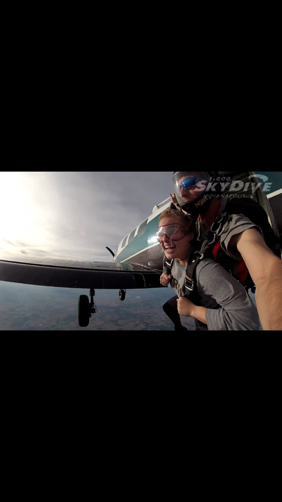 Senior Achieves Skydiving Goal
