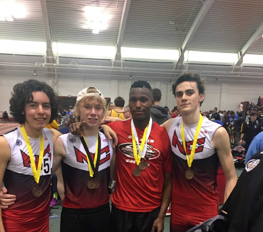 Track and Field Team Competes at Indoor State Meet