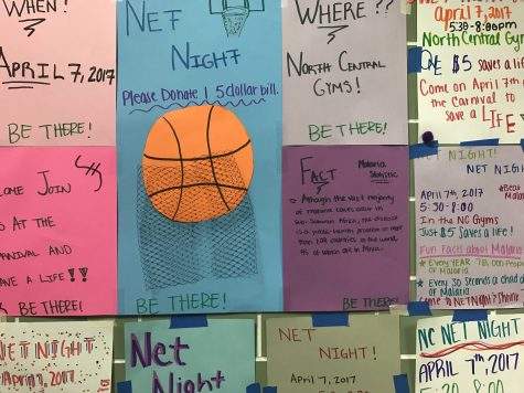 Students Prepare for Upcoming Net Night