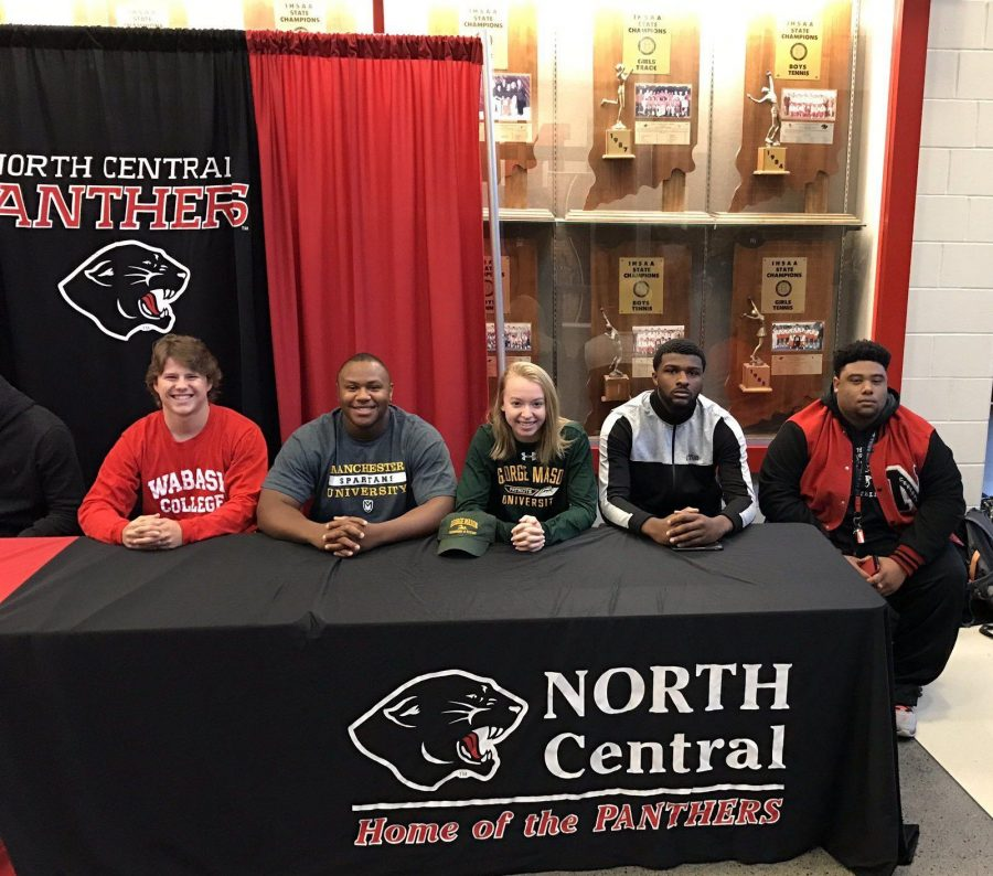 Athletes Commit to Colleges on Spring Signing Day