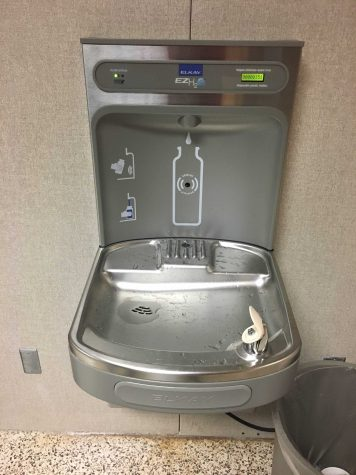 Installation of new water fountains