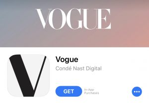 App of the Week- Vogue