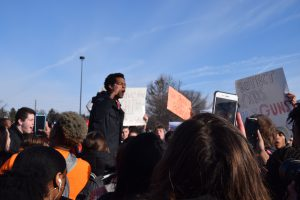 North Central student walkout gallery