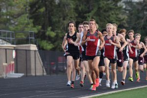 Boys Track and Field wins MIC Indoors