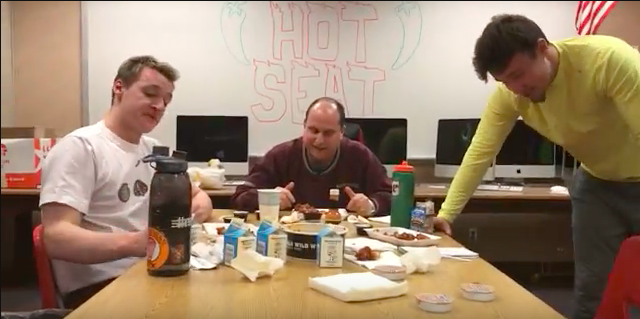 Hot+seat+ft.+Leo+Hodes+BLAZING+GHOST+PEPPER+WINGS