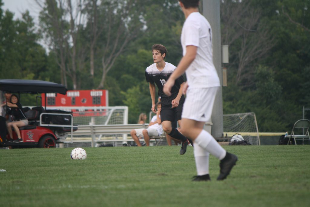 Last+year+soccer+played+Pike+for+senior+night.+Jakob+Faber+is+a+senior.