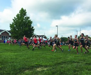Cross country was ninth in the state last year. Last weekend they opened their season against Bloomington South and Carmel.