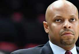 Jason Gardner graduated from NC in '99. He now coaches mens basketball at IUPUI. Photograph from IUPUI athletics page.