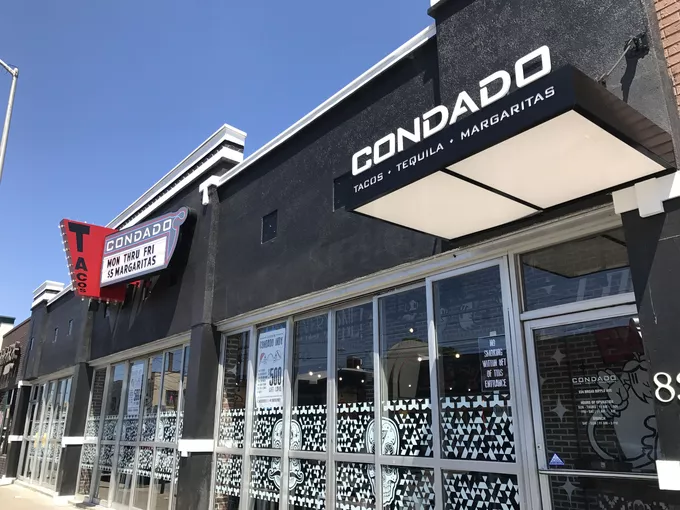 Condado+is+a+taco+shop+in+Broad+Ripple.+The+restaurant+was+recently+opened+this+past+summer.