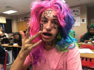 Sept. 19 is vine/meme day for spirit week. Many students got to participate.