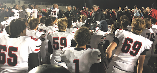 Football+Team+Defeats+Fishers+In+Sectional+Championship