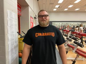 New weights coach poised to the lead the program to success