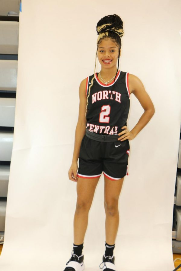 Guard Tanyuel Welch poses on picture day. Welch is excited to make a state run with her team.