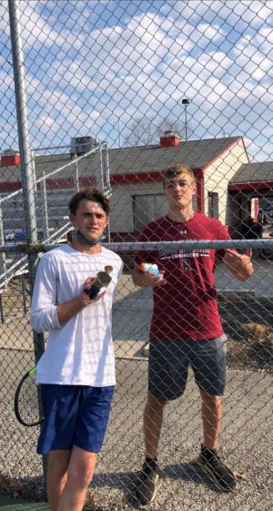 Senior Charlie Kauffman was eliminated in the first round of Senior Assassin. They are currently in the second round of what could be many more.