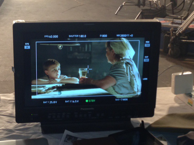 Gavin Washam films a commercial during his six month stay in China. Washam had the opportunity to experience Chinese culture.