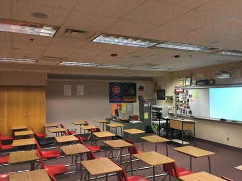 Many classrooms at North Central have no windows. Students feel that when a classroom has windows it provides a better learning environment.