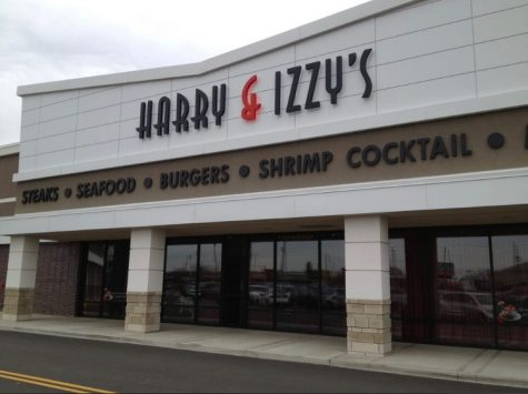 Harry and Izzys is located down the street from the The Fashion Mall at Keystone. They serve a wide variety of American food including steak and mashed potatoes.